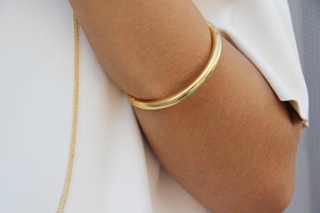 collar oro dos cruces - pulsera oro natty
